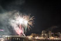 Silvester - Feuerwerk von Mathias Karner