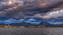 Dunkle Wolken über dem Hopfensee by Christine Horn