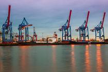 Hafen Hamburg by Britta Hilpert