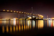 Köhlbrandbrücke Hamburg by Britta Hilpert