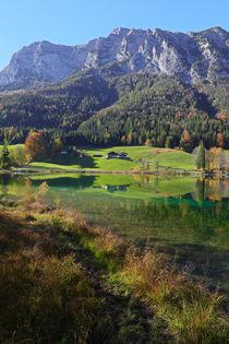 Hintersee im Herbst by Bernhard Kaiser