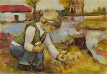 Paula painting Modersohn by alfons niex