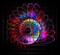 Illuminated helix #3 von Leopold Brix