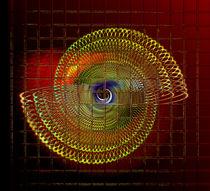 Illuminated helix #4 by Leopold Brix