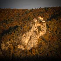 Schloss Bronnen im Abendlicht - Naturpark Obere Donau von Christine Horn