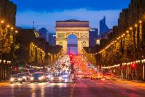 Avenue des Champs Elysees von Michael Abid