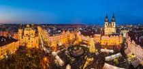 Christmas market in Prague von Michael Abid