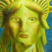 Liberty Rises by Green Moon Art