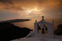 Sonnenuntergang in Agia Santorini von robby-der-knipser