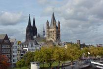 Köln und die Altstadt von Renate Grobelny