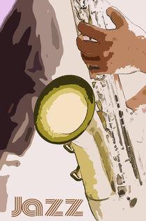 Jazz Poster von cinema4design