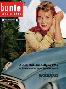 Romy Schneider: BUNTE Heft 38/57 von bunte-cover