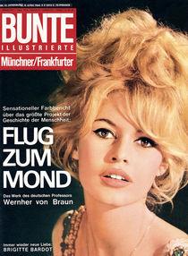 Brigitte Bardot: BUNTE Heft 15/64 von bunte-cover