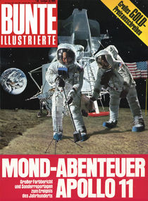 Mondlandung: BUNTE Heft 32/69 von bunte-cover