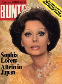 Sophia Loren: BUNTE Heft 26/75 von bunte-cover