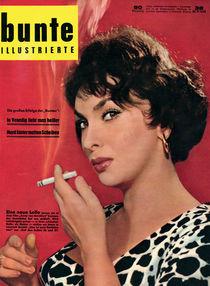 Gina Lollobrigada: BUNTE Heft 38/58 von bunte-cover