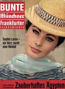 Sophia Loren: BUNTE Heft 34/63 von bunte-cover
