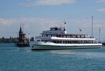 Bodenseeschiff im Konstanzer Hafen 2