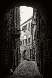 In Volterra by Claudia Evans