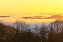 'Herbstmorgen über dem Nebel' von Bernhard Kaiser