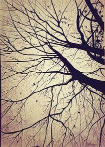 Herbstbaum von Stefanie Di Giuseppe