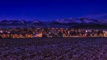 Evening Tatras from Strba