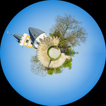 Burgkirche Ingelheim - Little Planet (2) by Erhard Hess