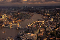 Thames Meander Cityscape  by Rob Hawkins