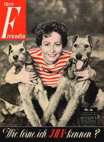 freundin Jahrgang 1951 Ausgabe 16 von freundin-cover