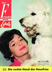 freundin Jahrgang 1960 Ausgabe 6 von freundin-cover