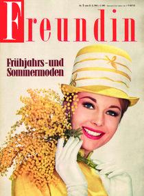 freundin Jahrgang 1961 Ausgabe 5 von freundin-cover