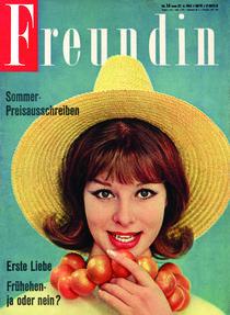 freundin Jahrgang 1961 Ausgabe 14 von freundin-cover