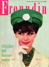 freundin Jahrgang 1962 Ausgabe 5 von freundin-cover