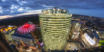 Sony Center, Deutsche Bahn Tower, Potsdamer Platz, Berlin  by travelstock44