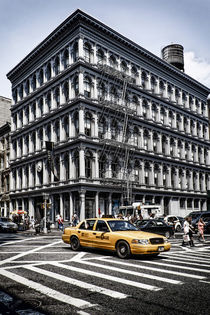 E.V. Haughwout building, Cast Iron District,   Broadway,  Soho, New York by travelstock44