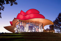 Hans Otto Theater in Potsdam,  Architekt Gottfried Boehm,  von travelstock44
