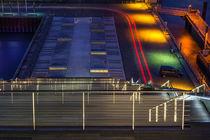 Dockland in Farbe von Leif Benjamin Gutmann