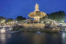 Brunnen Aix en Provence, Frankreich von travelstock44