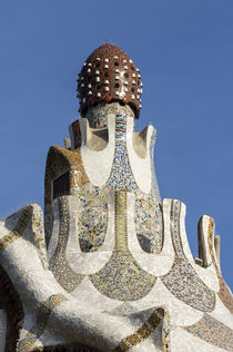 Park Guell , Antoni Gaudi, Barcelona, by travelstock44