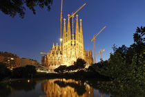 Sagrada Familia, Barcelona, Spanien  by travelstock44