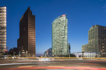 Potsdamer Platz in Berlin , Kollhoff-Tower, Sony Center, DB Tower , Beisheim Center,  Bahnhof Potsdamer Platz , Berlin von travelstock44