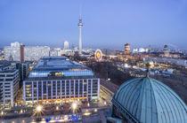Skyline Berlin, Blick vom Dom Richtung Alex von travelstock44