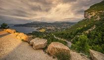 Route des Cretes, Cassis, Felsküste, Cote d Azur, Frankreich von travelstock44
