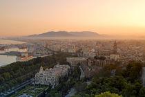 Aussichtspunkt Gibralfaro, Malaga, Andalusien , Spanien von travelstock44