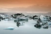Island,  Jokulsarlon Gletscher Lagune  ,  von travelstock44