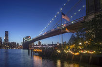 Brooklyn Bridge, New York, USA  von travelstock44