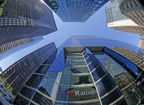 Hauptsitz Fitch Ratings, Finanzdistrikt Manhattan, New York, by travelstock44