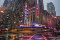 Radio City Music Hall, Manhattan, New York City, USA  von travelstock44