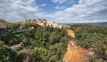 Roussillon Village, Luberon, Provence, Frankreich  by travelstock44