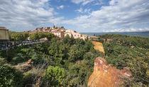 Roussillon Village, Luberon, Provence, Frankreich  von travelstock44